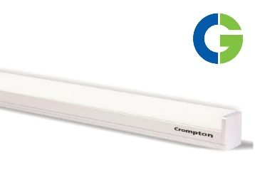 Flat 57% off on Crompton Greaves Ldlsr20-Ww 20-Watt Led Batten (Silver & Grey)